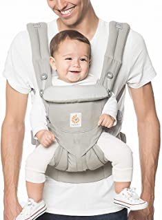 Ergobaby Carrier, Omni 360 All Carry Positions Baby Carrier, Pearl Grey