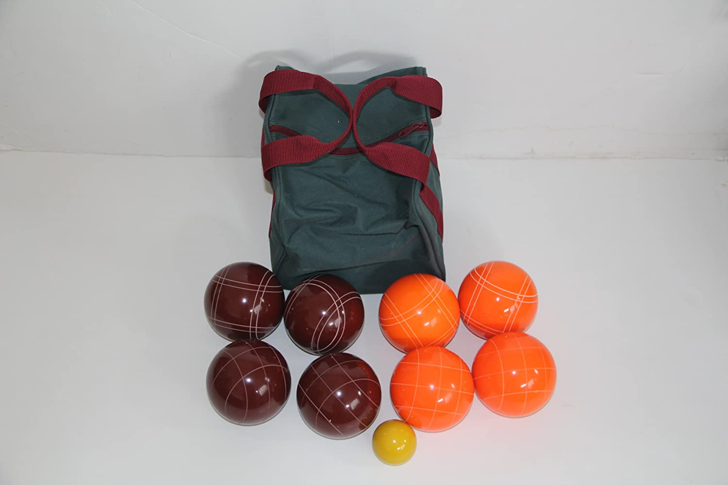 Premium Quality EPCO Tournament Bocce Bocce Bocce Set 107mm Red and