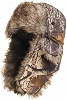 Winter Hat Cap Camouflage Ski Trapper Trooper Hunting Cold Weather Ear Flap