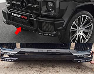 Carbon Front Lip Spoiler with LED DRL Mercedes-Benz G-Class Brabus Style W463 G500 G55 G63 G65