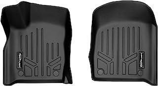 SMARTLINER Custom Fit Floor Mats 1st Row Liner Set Black for 2016-2021 Jeep Grand Cherokee/Dodge Durango