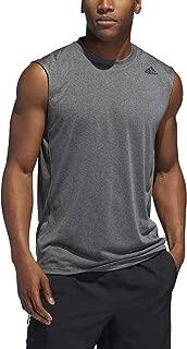 adidas Men's Fl_Tec Z Col Sl T-Shirt (Sleeveless), Grey (Grey Three F17), Medium