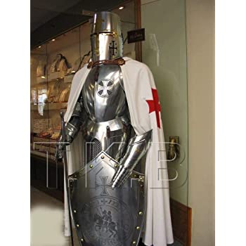 NauticalMart Medieval Wearable Knight Crusader Full Suit of Armour Collectibles Armor Costume