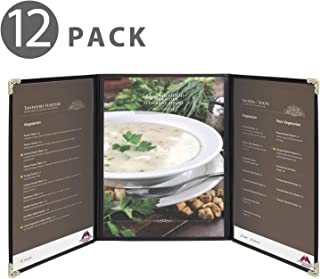 Flexzion Menu Covers Fits 9.4