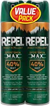 Repel Sportsmen Max Insect Repellent, 40% Deet 6.5 oz by 2 PACK