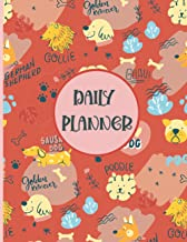 Daily planner: Funny Dogs Lovers 2022 Daily & Weekly Planner | With Calendar, For a More Organised Year !