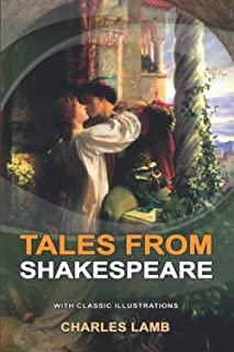 TALES FROM SHAKESPEARE : Classic fiction with illustration