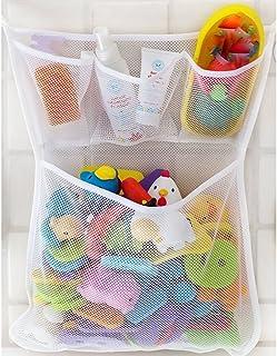 a1e30a440b4d Fligatto bagno giocattolo borsa per il bagnetto vasca net bag bagno rete  portaoggetti autoadesivo ganci e