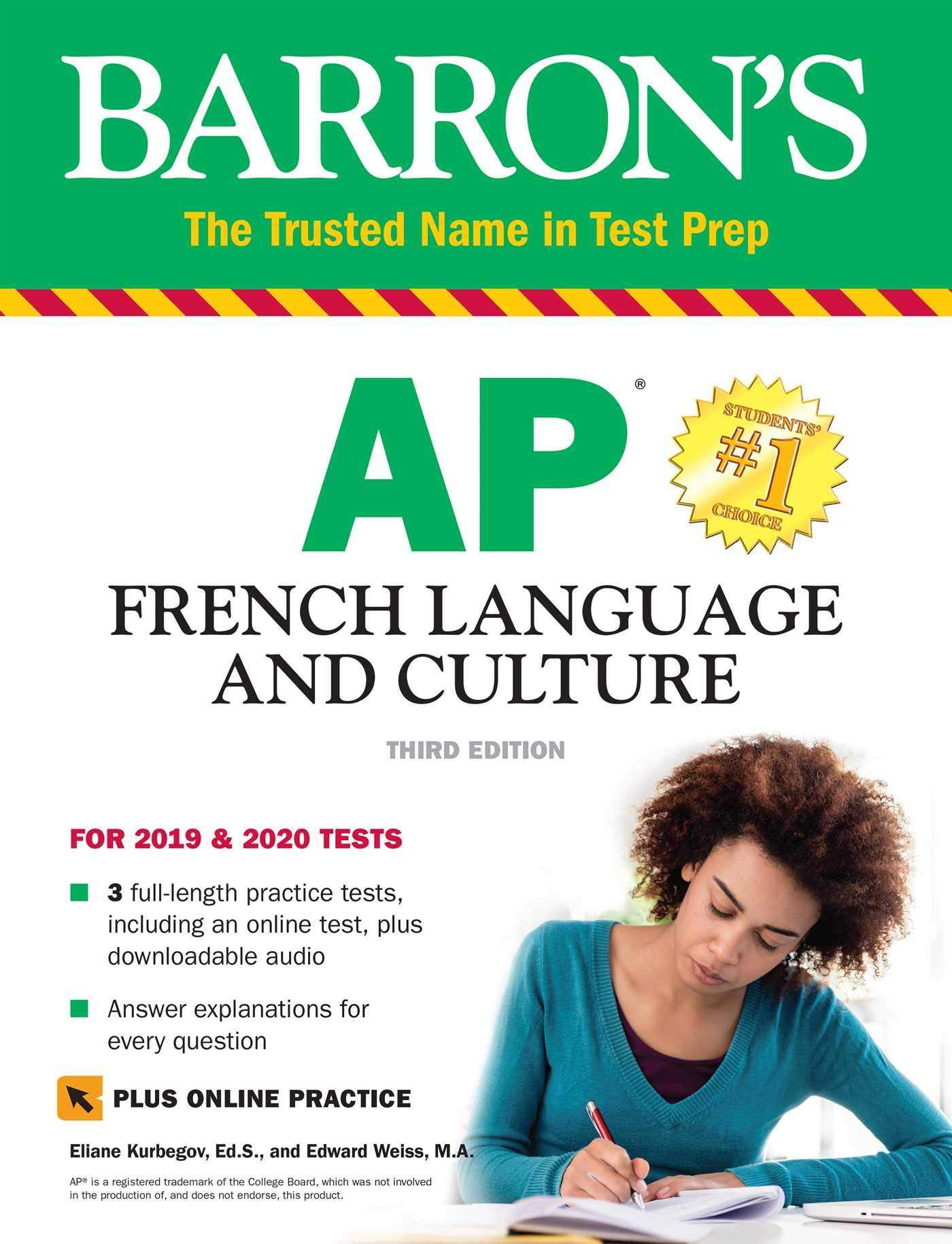 Image OfAP French Language And Culture With Online Test & Downloadable Audio (Barron's Test Prep)