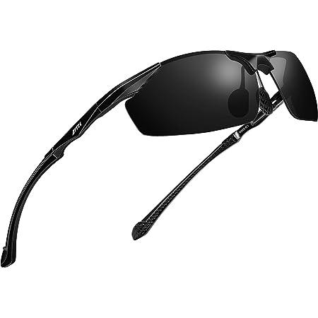 ATTCL HD Sunglasses man Polarized Driving Fishing Golf Sports Glasses Al-Mg Metal Frame Ultra Light