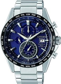 Citizen Homme Chronographe Energie Solaire Montre avec Bracelet en Titane AT8154-82L