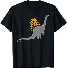 MTB Dinosaur T-Shirt Dino Bike Mountain Bicycle Sport Shirt T-Shirt