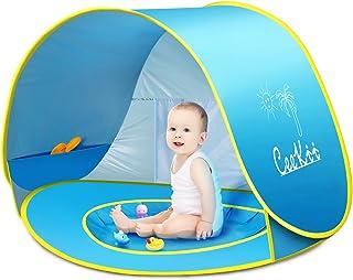 CeeKii Tienda Playa Bebe, Pop-up Tienda de bebé con Piscina