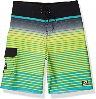 Billabong Men's All Day Stripe Pro Boardshort, Aqua, 34