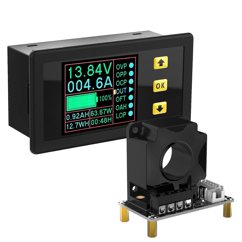 Bidirectional Volt Amp Meter DROK Voltage DC 0-90V Luxury 300A Current Cheap SALE Start