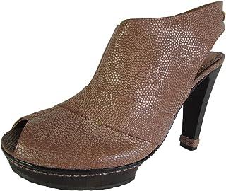 BCBG Womens Echo Pebble Grain Peep Toe Platform Pump Shoe