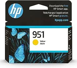 Original HP 951 Yellow Ink Cartridge | Works with HP OfficeJet 8600, HP OfficeJet Pro 251dw, 276dw, 8100, 8610, 8620, 8630...