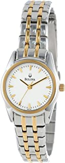 Bulova Women's 98L138 Bracelet Silver White Dial Watch