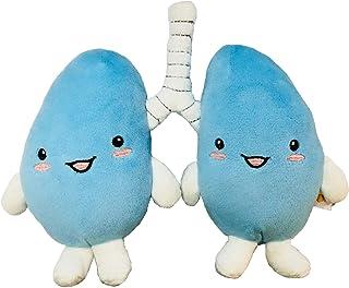 ぬいぐるみ 臓器 人体 内臓 目 心臓 胃 筋肉 うんち うんこ 腸 脳 肺 お見舞い 快気祝い 健康祈願 還暦 病院 理科 誕生日 プレゼント 知育 おもしろい おもちゃ 玩具 人形 クリニック (肺)