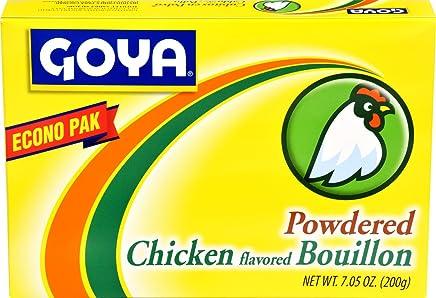 Goya Foods Chicken Flavored Bouillon Powder Econo Pak, 7.05 Ounces