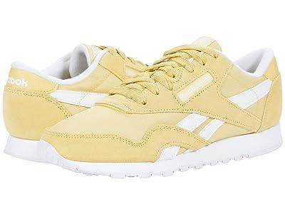 Reebok Lifestyle Classic Nylon (Weathered Yellow/White/White) Women