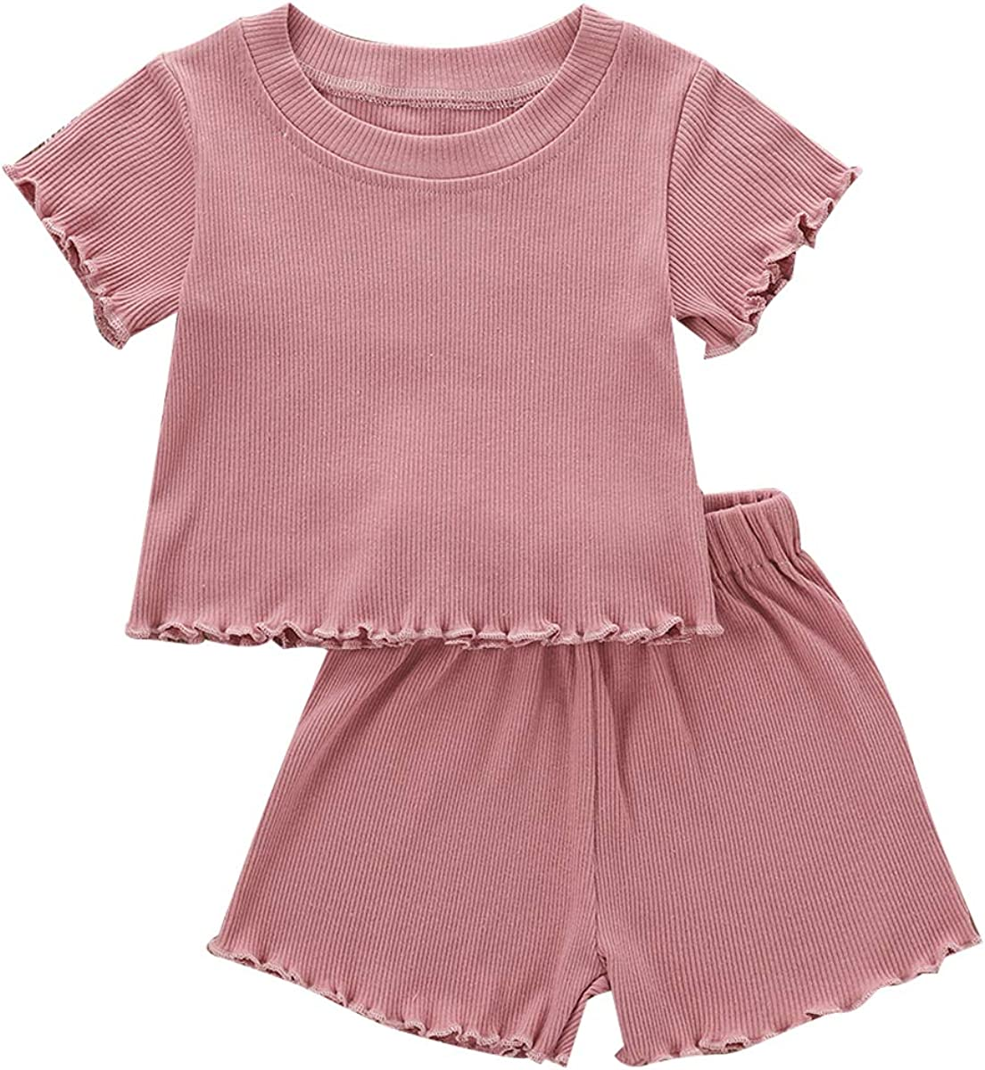 Toddler Newborn Unisex Baby Short Sleeve Pullover T-Shirt Tops S