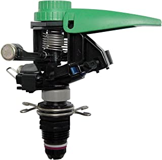 Rain Bird P5R Plastic Impact Sprinkler, Adjustable 0░ – 360░ Pattern, 25'..
