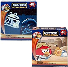 2-Pack Angry Birds Star Wars 48-Piece Puzzles