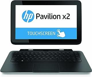 HP Pavilion 13-P110NR 13.3-Inch Detachable 2 in 1 Touchscreen Laptop (1.5 GHz Intel i3-4020Y Processor, 4GB DDR3L, 128GB SSD, Intel HD graphics 4400, Windows 8.1) Black