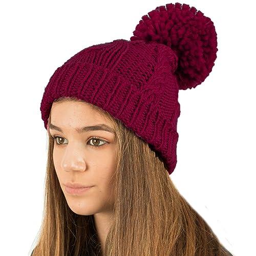 7ebd2f52d Burgundy Hat: Amazon.co.uk