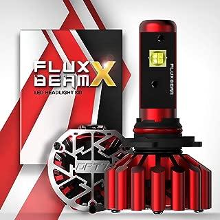 OPT7 Fluxbeam X 9006 LED Headlight Bulbs w/Arc-Beam Lens - 8,400LM 6000K Daytime White - All Bulb Sizes - 60w - 2 Year Warranty