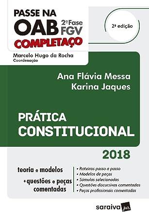 Passe na OAB. 2ª Fase FGV. Prática Constitucional