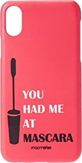 Macmerise IPCIXSPMI2328 You had me at Mascara - Pro Case for iPhone XS - Multicolor (Pack of1)