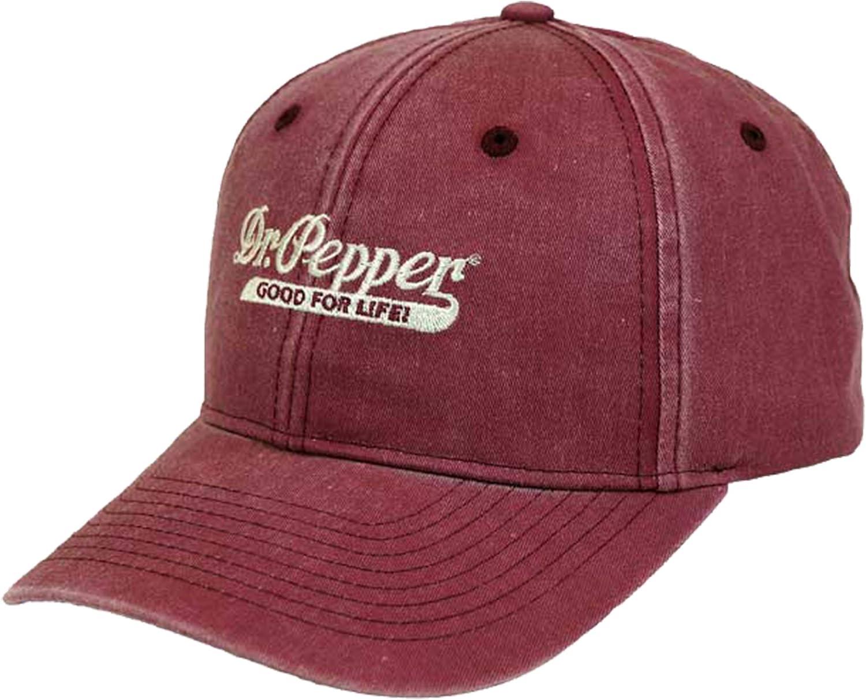 Dr. Pepper Strapback Hat Red
