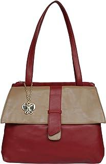 (Butterflies Women Handbag (Maroon) (BNS 0705MRN)