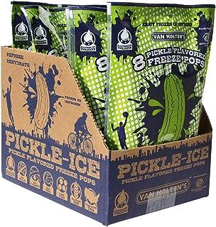 Van Holtens Pickle Ice Freeze Pops, 16 Fluid Ounce -- 6 per case.