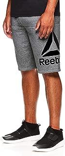 Reebok Men's Lifestyle Shorts - Running Gym & Workout Short w/Elastic Waistband