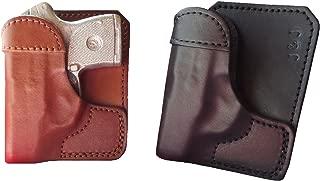 J&J Custom Fit KAHR CW380 Formed Wallet Style Premium Leather Back/Cargo Pocket Holster