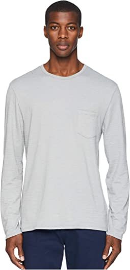 Chad Long Sleeve Pocket Tee