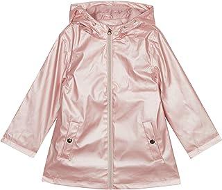 92afb75bd7788 bluezoo Kids Girls' Pink Pearlised Raincoat
