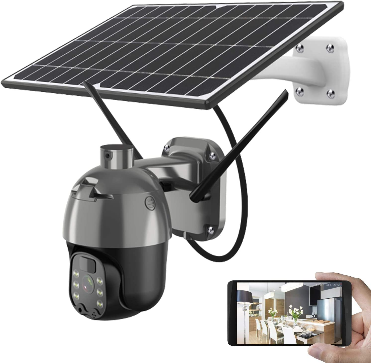Wireless Solar Security Camera - 1080P Outstanding WiFi R and Panel HD Cash special price