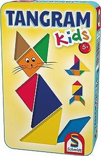 Schmidt Spiele Kids Jeu Éducatif Enfants Tangram (51406