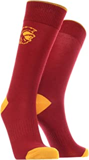 TCK USC Trojans Dress Socks Dean's List Crew Length Socks