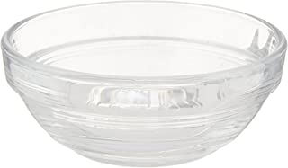 Duralex Made In France Lys Stackable 8 Piece Glass Bowl Set, 2 oz, Clear