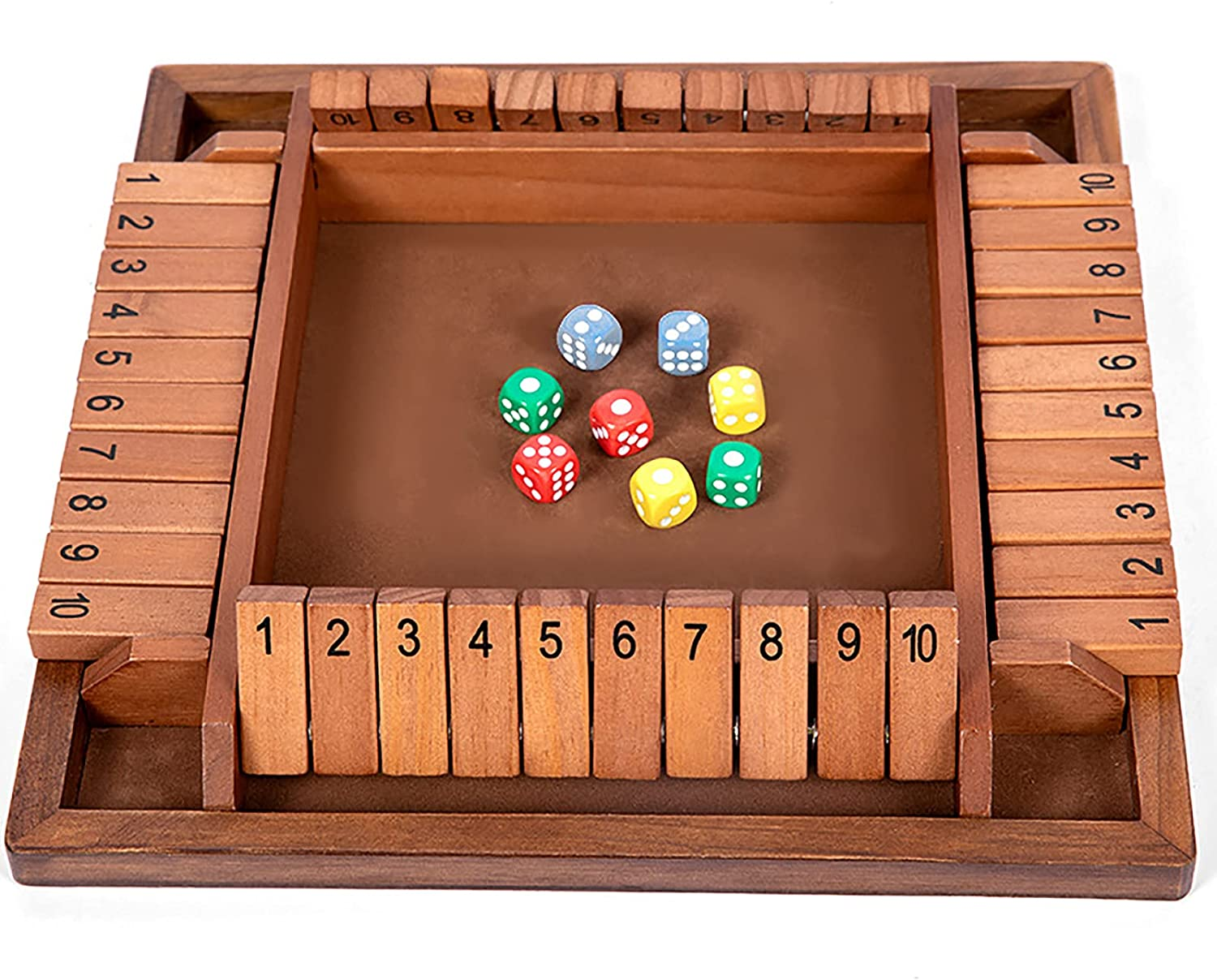 LHZMD Wooden Board 2021 model Game Mathematic Class Super sale period limited A Dice Traditional