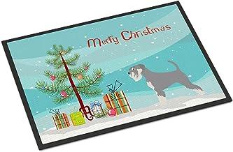 Caroline's Treasures AIDI Atlas Mountain Dog Christmas Doormat 18hx27w Multicolor, Christmas Tree, 18 x 27