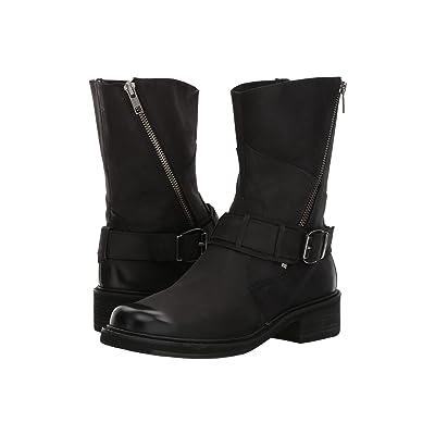 Walking Cradles Dallas (Black Distressed Leather) Women