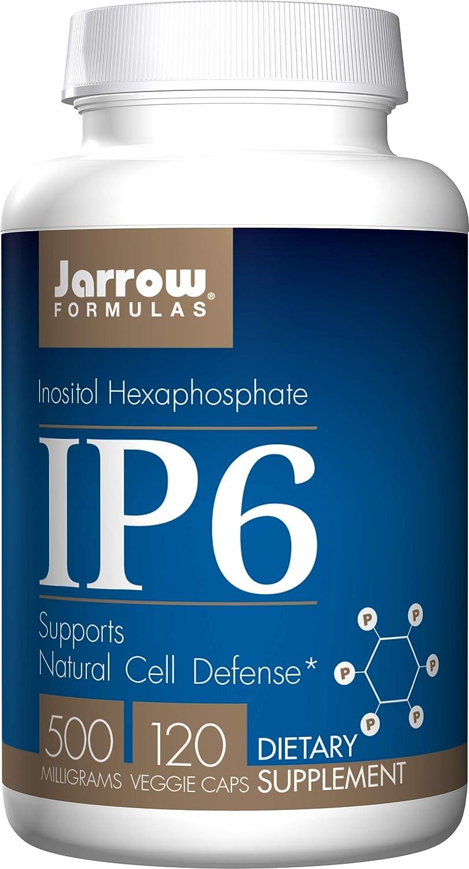 Jarrow Credence Formulas IP6 Purified Inositol Ranking TOP7 mg Hexaphosphate Imm 500