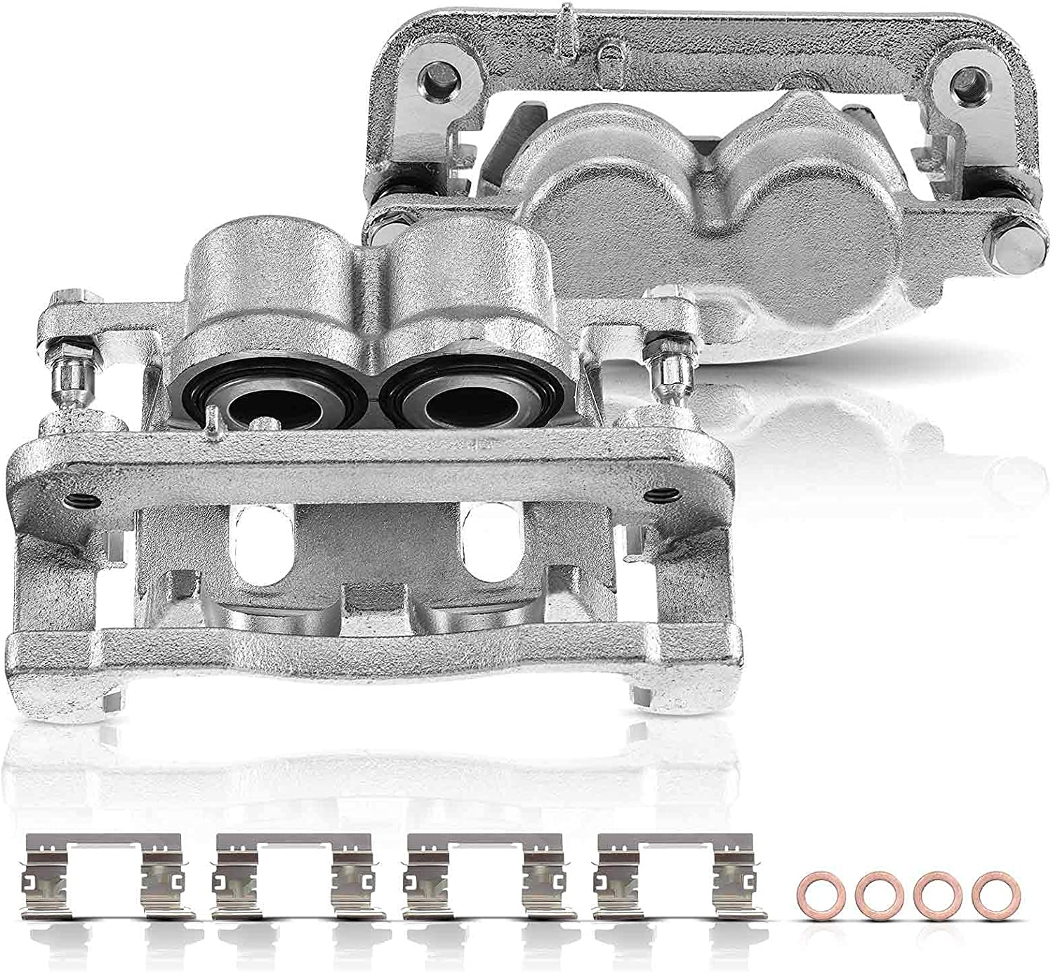Set of 2 Front OFFicial Brake with Chevrolet Compatible Assembly Caliper specialty shop