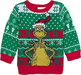 Dr. Seuss Grinch Baby Boys Sweater